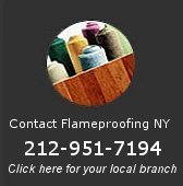 FlameProofing NY serving NYC: Manhattan, Queens, Brooklyn; Long Island